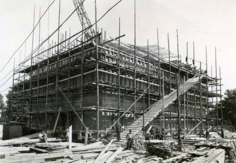 ARH Slg. Mütze 180, Bau des Luftschutzbunkers Schmiedestraße, Langenhagen, 1941