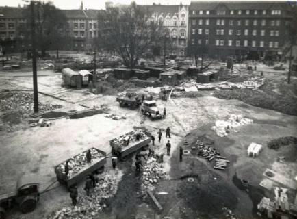 ARH Slg. Mütze 207, Umbau des Ernst-August-Platzes, Hannover, 1938