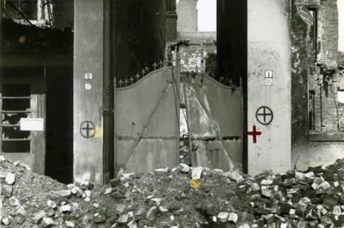 ARH Slg. Mütze 213, Hauseingang Herrenstraße 2, Hannover, zwischen 1943/1949