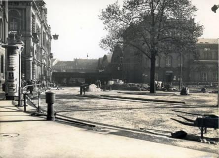 ARH Slg. Mütze 215, Umbau des Ernst-August-Platzes, Hannover, 1938