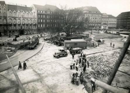 ARH Slg. Mütze 231, Umbau des Ernst-August-Platzes, Hannover, 1938