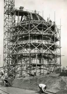 ARH Slg. Mütze 237, Bau des Luftschutzbunkers Sandstraße, Hannover, 1941