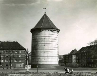 """ARH Slg. Mütze 251, Luftschutzbunker """"Hoffmann-von-Fallersleben Straße"""", Hannover, vor 1945"""