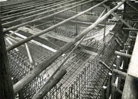 """ARH Slg. Mütze 261, Bau des Luftschutzbunkers """"Höfestraße"""", List, 1940"""