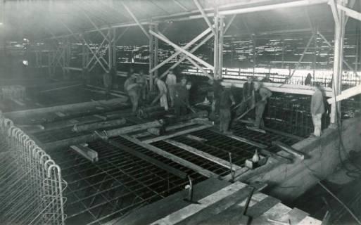 ARH Slg. Mütze 265, Bau des Luftschutzbunkers am Klagesmarkt, Hannover, 1941