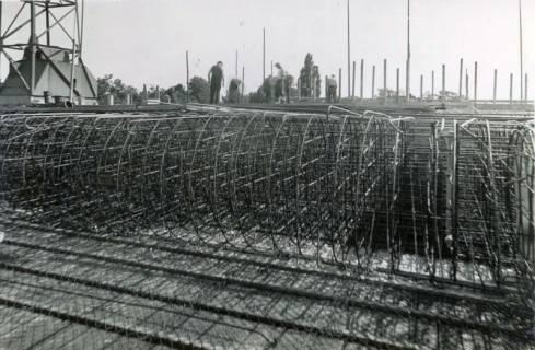 ARH Slg. Mütze 267, Bau des Luftschutzbunkers Schmiedestraße, Langenhagen, 1941