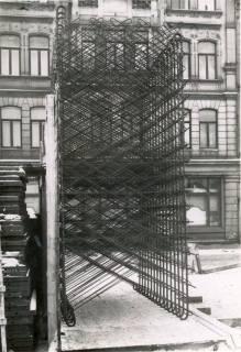 ARH Slg. Mütze 268, Bau des Luftschutzbunkers am Klagesmarkt, Hannover, um 1941