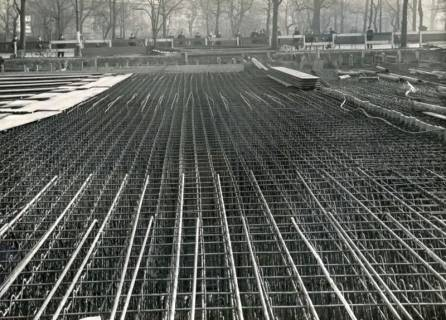 ARH Slg. Mütze 282, Bau des Luftschutzbunkers am Klagesmarkt, Hannover, 1941