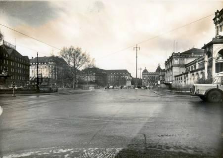 ARH Slg. Mütze 287, Umbau des Ernst-August-Platzes, Hannover, um 1938