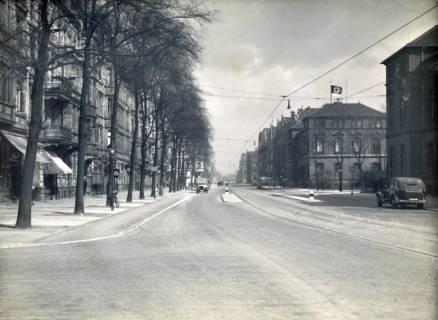 ARH Slg. Mütze 294, Vahrenwalder Straße (rechts die Kavallerieschule), Hannover, vor 1945