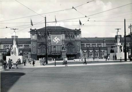 ARH Slg. Mütze 300, Ernst-August-Platz, Hannover, vor 1945