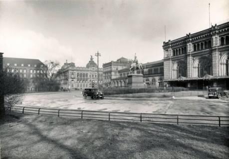 ARH Slg. Mütze 301, Ernst-August-Platz, Hannover, vor 1945