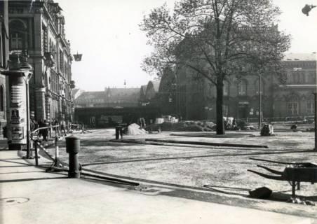 ARH Slg. Mütze 305, Umbau des Ernst-August-Platzes, Hannover, um 1938