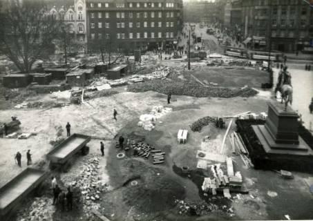 ARH Slg. Mütze 312, Umbau des Ernst-August-Platzes, Hannover, 1938