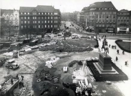 ARH Slg. Mütze 313, Umbau des Ernst-August-Platzes, Hannover, 1938