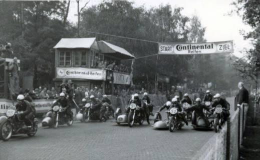 ARH Slg. Mütze 340, Eilrenriederennen mit Start und Ziel am Lister Turm, List, um 1933