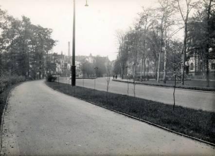 ARH Slg. Mütze 351, Bernadotteallee nach Umbau, List, um 1935