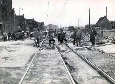 ARH Slg. Mütze 354, Ausbau der Podbielskistraße, Hannover, vor 1940