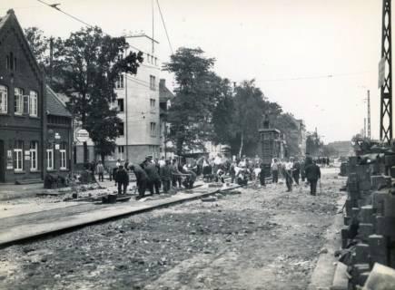 ARH Slg. Mütze 355, Ausbau der Podbielskistraße, Hannover, vor 1940