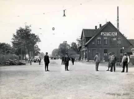 ARH Slg. Mütze 356, Ausbau der Podbielskistraße, Hannover, vor 1940