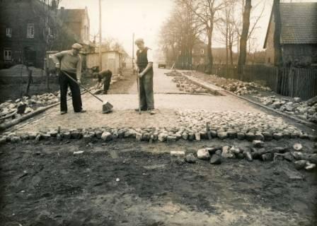 ARH Slg. Mütze 357, Bau der Straße Im Heidkampe, Bothfeld, vor 1945