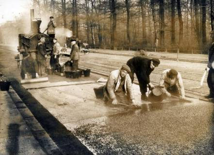 ARH Slg. Mütze 359, Teerkolonne, Hannover?, vor 1945