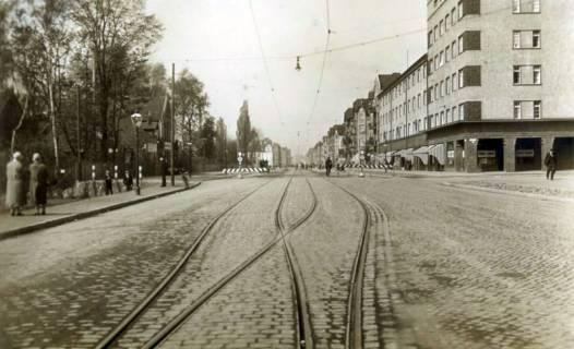 ARH Slg. Mütze 374, Podbielskistraße / Ecke Klopstockstraße, Hannover, um 1935