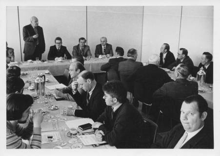 ARH Slg. Bartling 16, Ausschusssitzung während der Zeit des Interimsrats, 1974