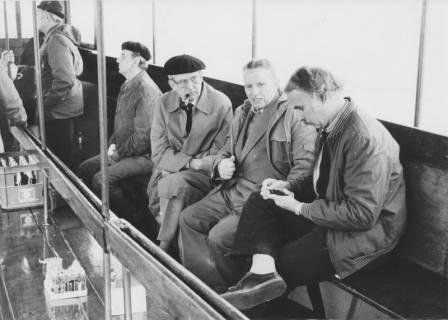 ARH Slg. Bartling 47, Ratsherren beim Ausflug auf dem Steinhuder Meer, um 1985