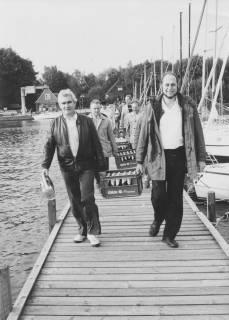 ARH Slg. Bartling 48, Ratsherren beim Ausflug am Steinhuder Meer, um 1975