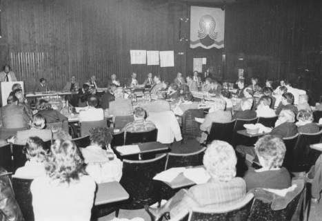 ARH Slg. Bartling 52, Ratssitzung im Kinosaal des FZZ, um 1975