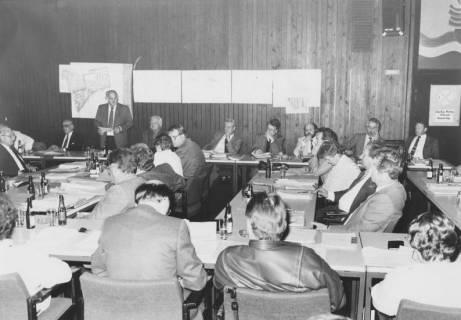 ARH Slg. Bartling 54, Ratssitzung im FZZ, Bürgersaal, 1976