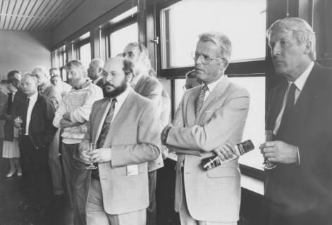 ARH Slg. Bartling 55, Steh-Empfang in der Verwaltung, um 1990