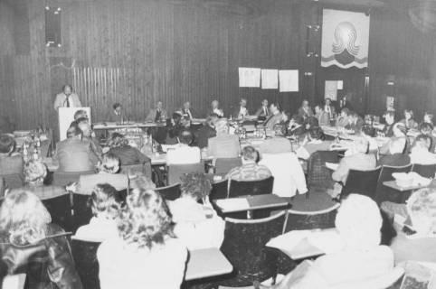 ARH Slg. Bartling 57, Ratssitzung im Kinosaal des FZZ, um 1975