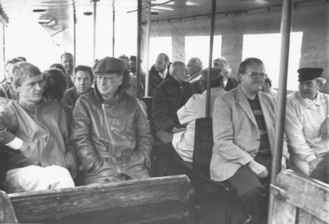 ARH Slg. Bartling 58, Ausflug des Stadtrats mit Schiff auf dem Steinhuder Meer, um 1983