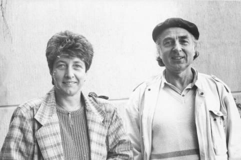 ARH Slg. Bartling 61, Eugen Sühlo, Bürgermeister (CDU), und Nachfolgerin Ursula Baldauf, Bürgermeisterin (CDU) (v. r.), um 1985