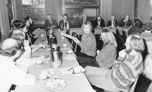 ARH Slg. Bartling 67, Sitzung des Kulturausschusses (?) im FZZ, um 1985