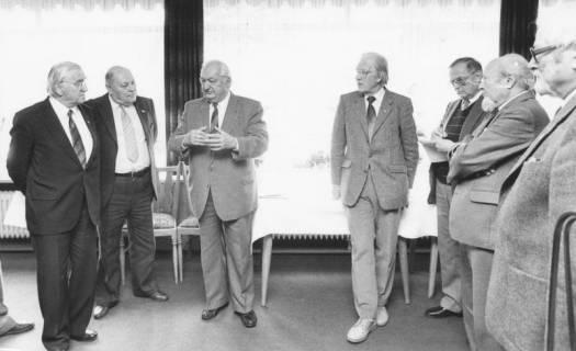 ARH Slg. Bartling 73, Besuchergruppe von 6 Herren, um 1985