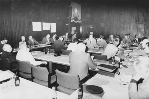 ARH Slg. Bartling 80, Ratssitzung im Kinosaal des FZZ, um 1985