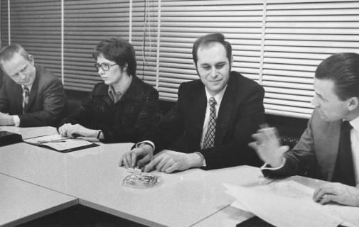 ARH Slg. Bartling 84, Tischgespräch im Rathaus, 1973