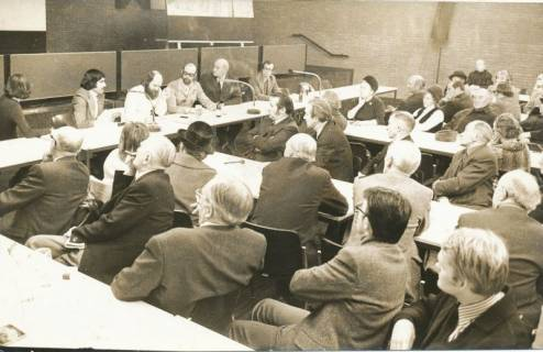 ARH Slg. Bartling 89, Bürgerversammlung im Bürgersaal des FZZ, 1974