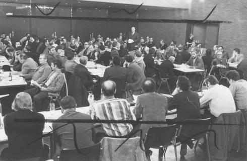 ARH Slg. Bartling 92, Bürgerversammlung im großen Saal des FZZ, 1974