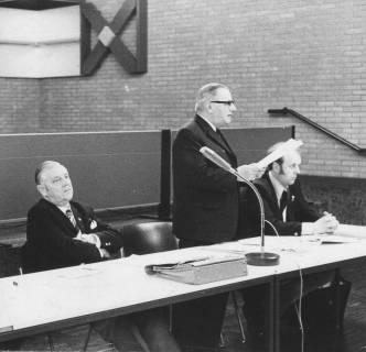ARH Slg. Bartling 94, Sitzung im Bürgersaal des FZZ, 1974