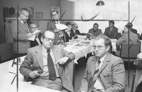 ARH Slg. Bartling 109, Sitzung Arbeitgeber und Versicherte, 1974