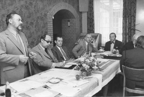 ARH Slg. Bartling 110, Sitzung, 1972