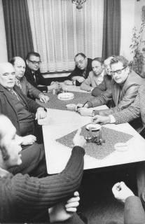 """ARH Slg. Bartling 125, Sitzung im Hotel """"Scheve"""", 1973"""