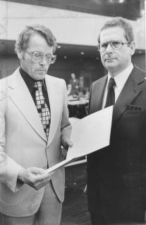 ARH Slg. Bartling 126, Ernennung von Felix Rohde zum Stadtdirektor, 1974