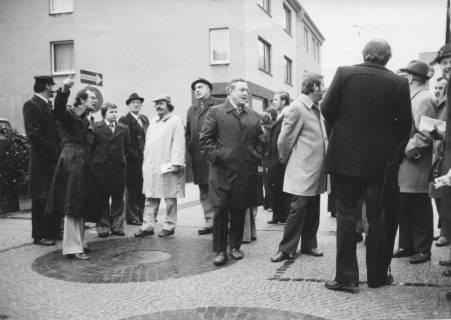 ARH Slg. Bartling 134, Besuch des Rates der Stadt Barsinghausen in der Fußgängerzone von Neustadt am Rübenberge, um 1975