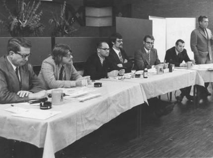 ARH Slg. Bartling 136, Ratssitzung im Bürgersaal des FZZ, 1972