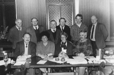 ARH Slg. Bartling 147, Gruppenporträt von zehn Personen, um 1985